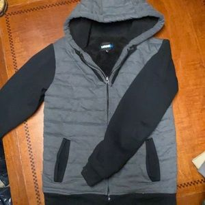 Hawk fur lined jacket